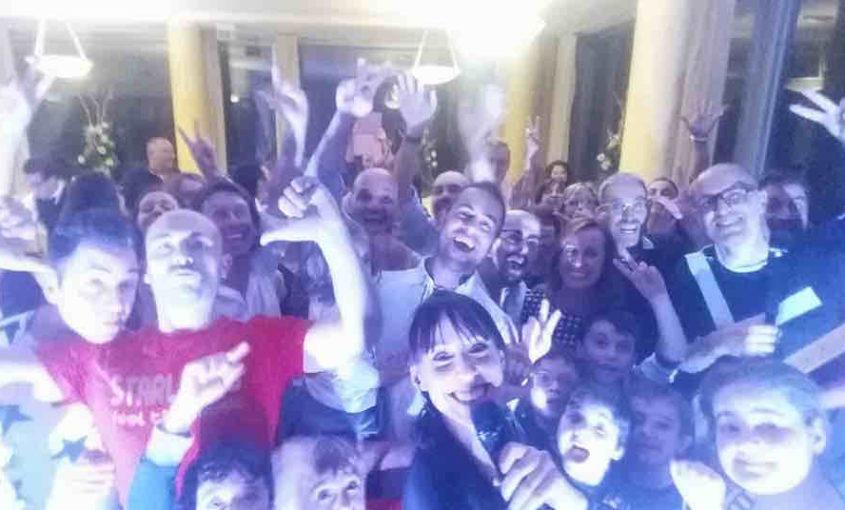 Starlights - 18 novembre 2017, Coazze, ristorante Le Pigne, festa a sorpresa per i 40 anni di Michela