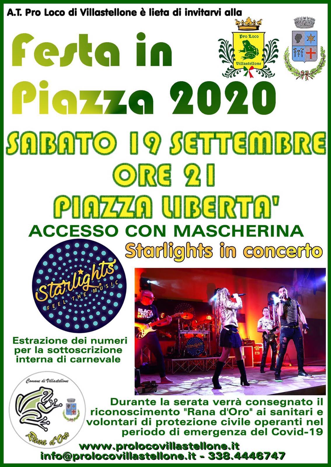 Festa in piazza 2020